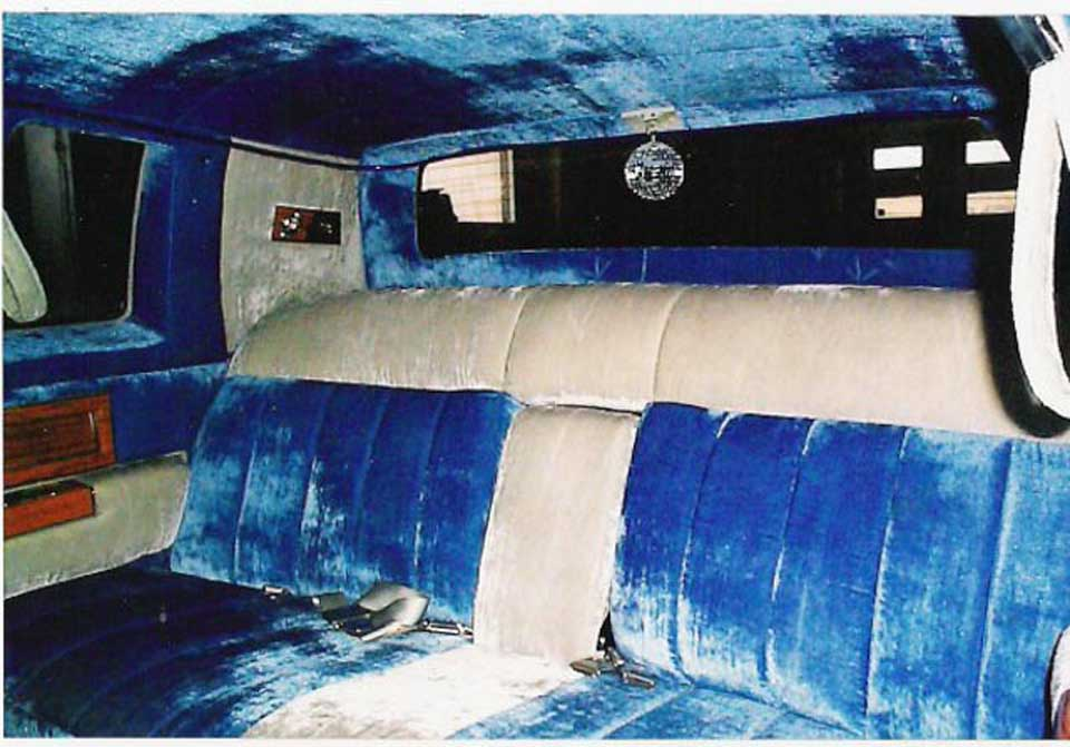 blue and beige colour car upholstery