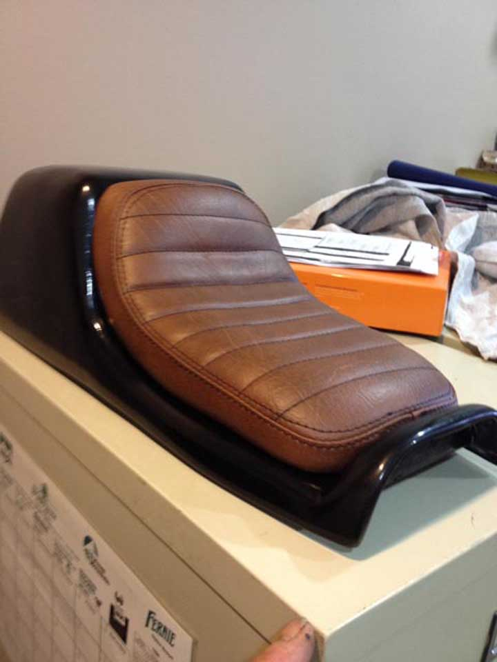 brown color car upholstery