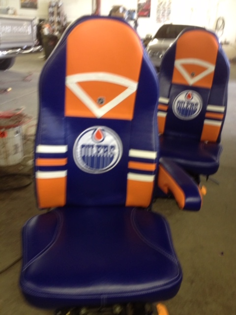 Oilers seats