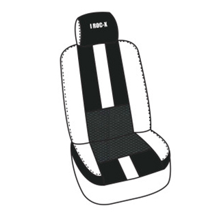 car seat with stripe in middle